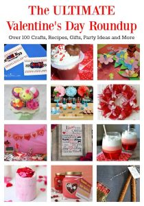 The ULTIMATE Valentine's Day Roundup: Over 100 Crafts, Recipes, Gifts, Party Ideas and More | Tastefully Frugal