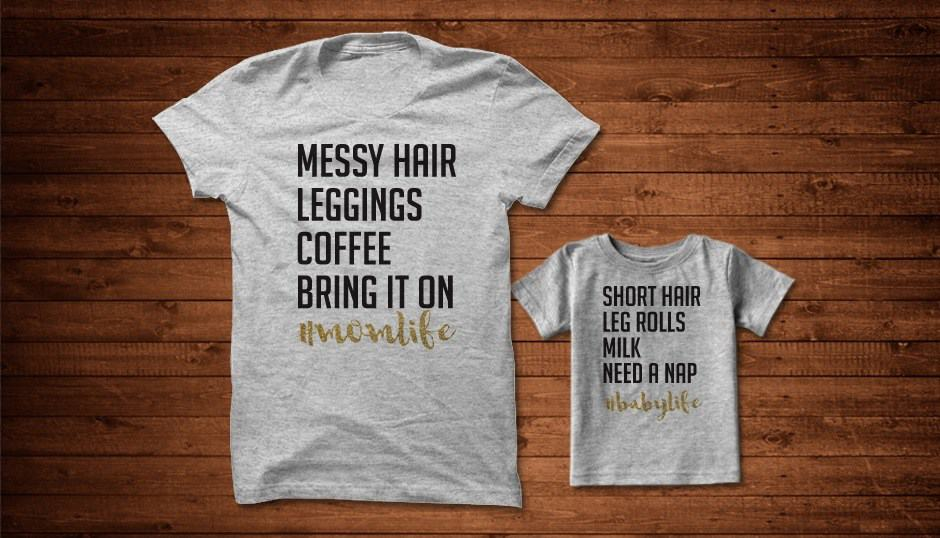 Exclusive Deal: Mommy & Me Tees 40% Off!
