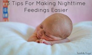 3 Tips For Making Nighttime Feedings Easier including quality formula at an affordable price! AD MMbabyformula
