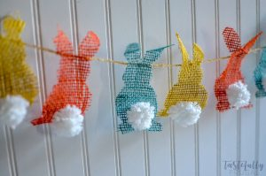 Make this fun Easter Garland in less than an hour with your Cricut Maker