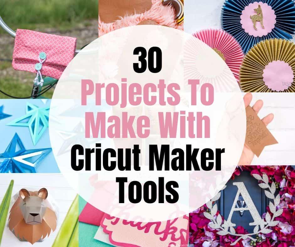 30 cricut projects promo graphic