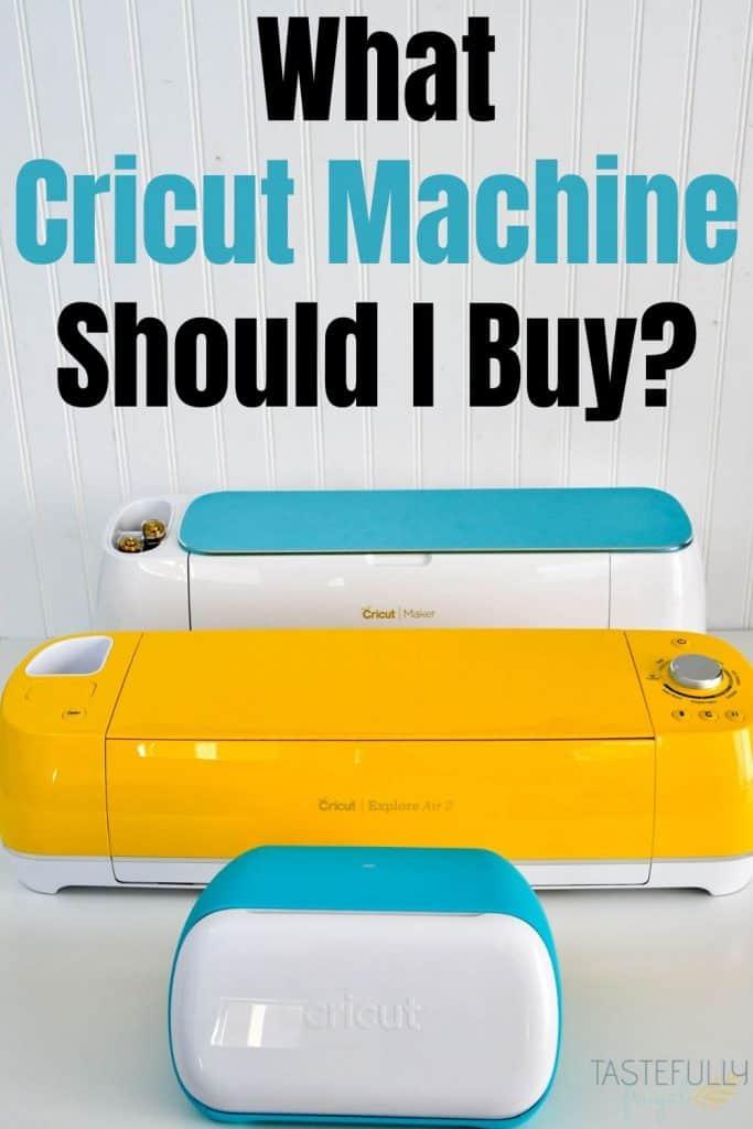 what cricut machine should i buy promo graphic