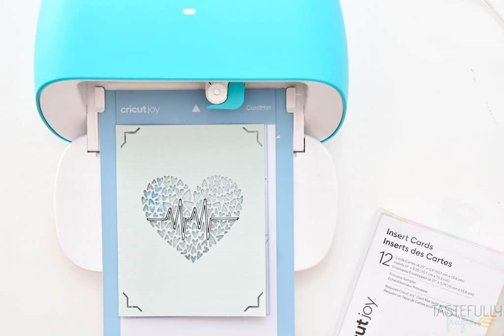 Learn how to make your own card desigs with Cricut