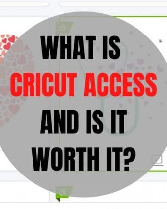 Learn about Cricut Access including what's included, costs, benefits and more! #ad