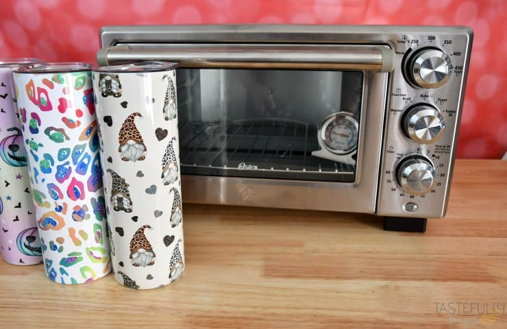 How To Make Sublimation Tumblers in Convection Oven