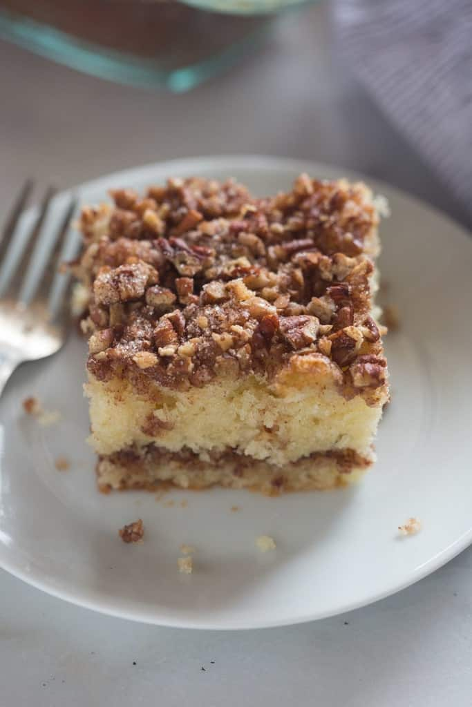 Sour Cream Coffee Cake Tastes Better From Scratch