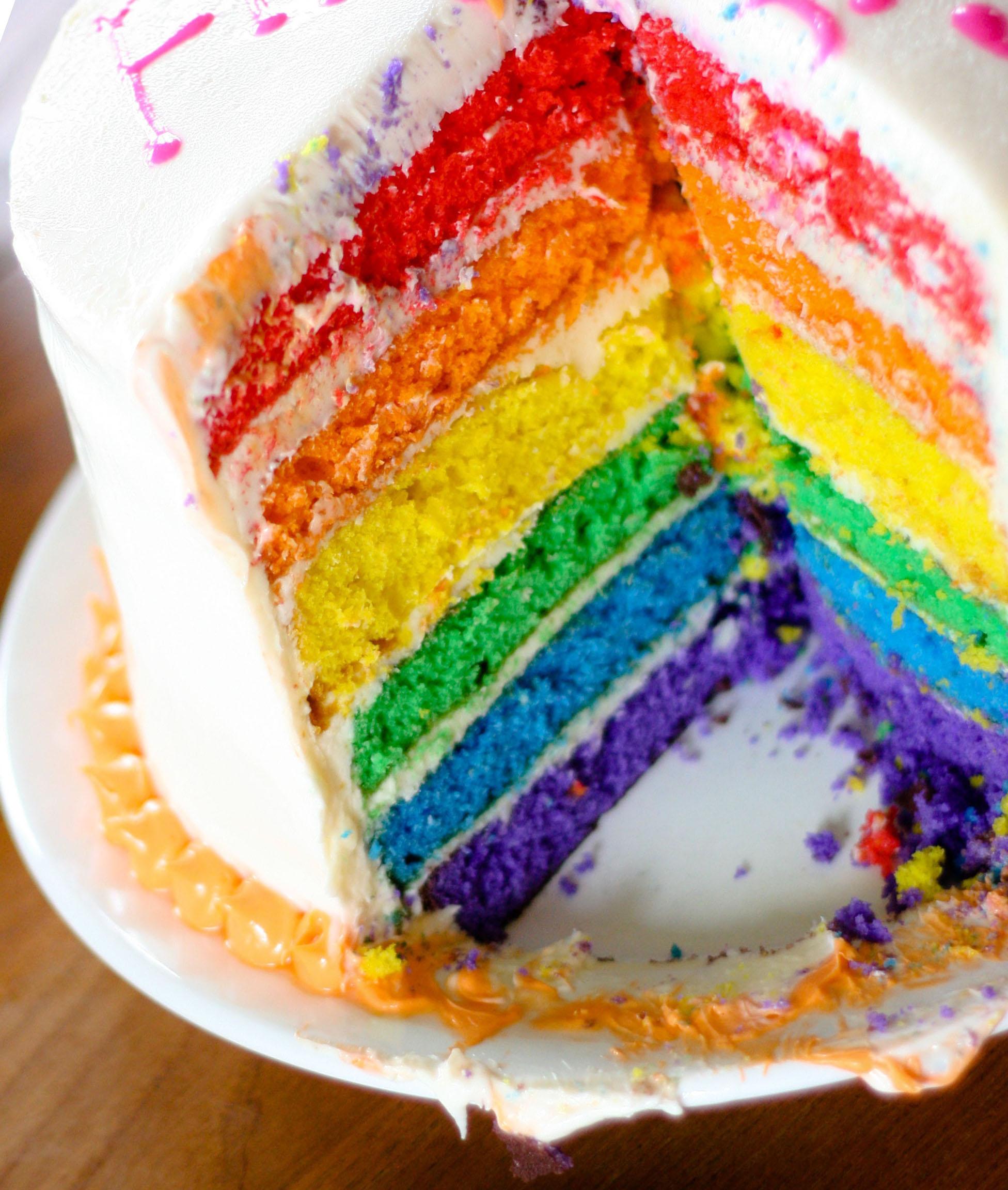 Rainbow Cake Tasty Kitchen A Happy Recipe Community