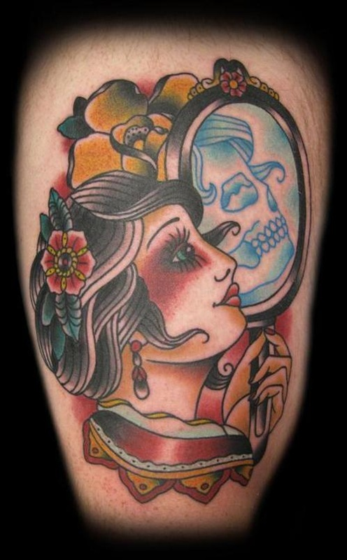 Pin Up Girl Tattoo Design Ideas and Pictures Page 2 - Tattdiz
