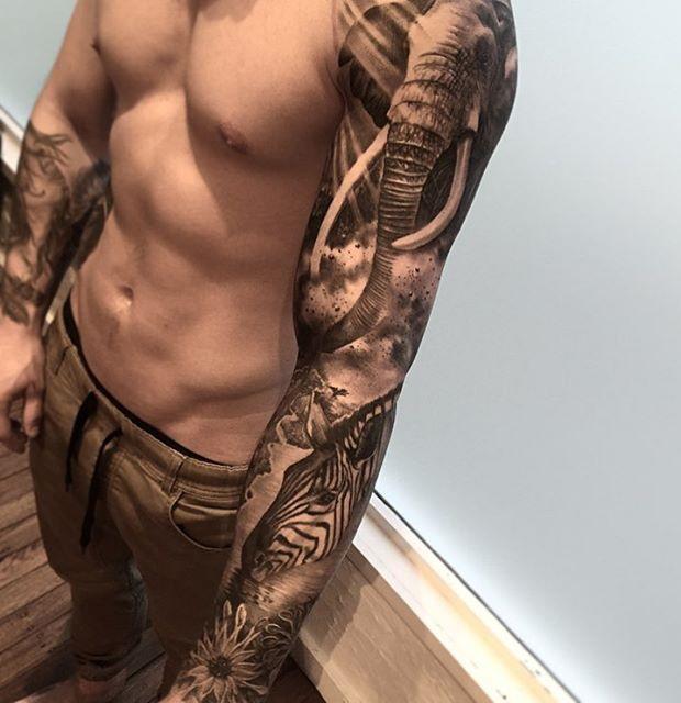Puerto Rico Tribal Symbol Tattoo