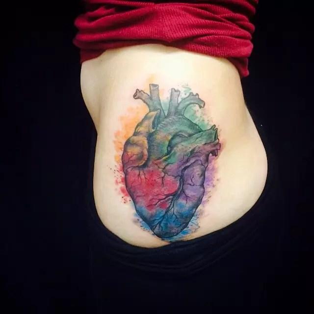 Heart Broken Hand Picture Held