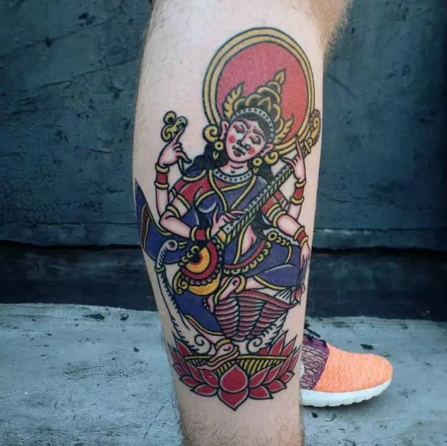 70+ Sacred Hindu Tattoo Ideas – Designs Packed With Color ...