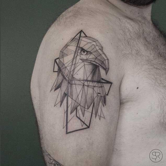 Low Poly Geometric Animal Tattoos By Belgian Artist Sven