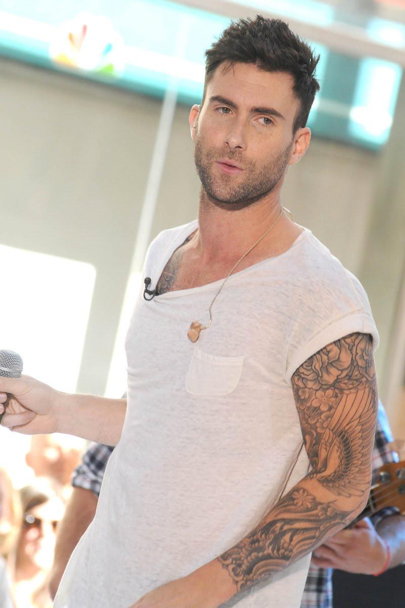 Adam Levine Tattoos ~ Fashion For Style