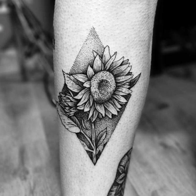 20 Sunflower Tattoos | Tattoofanblog