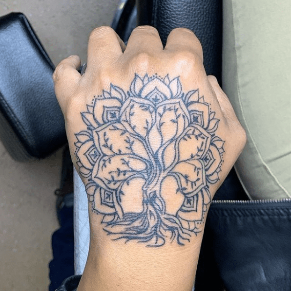 irish tree of life tattoo