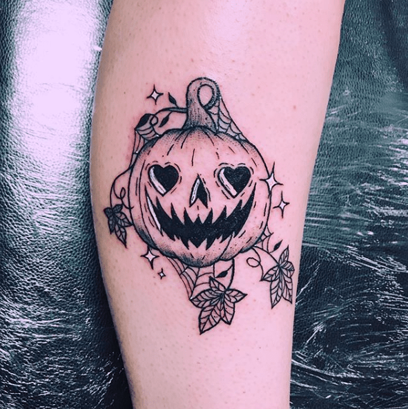 halloween tattoo design