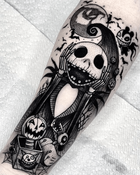 cute halloween tattoos