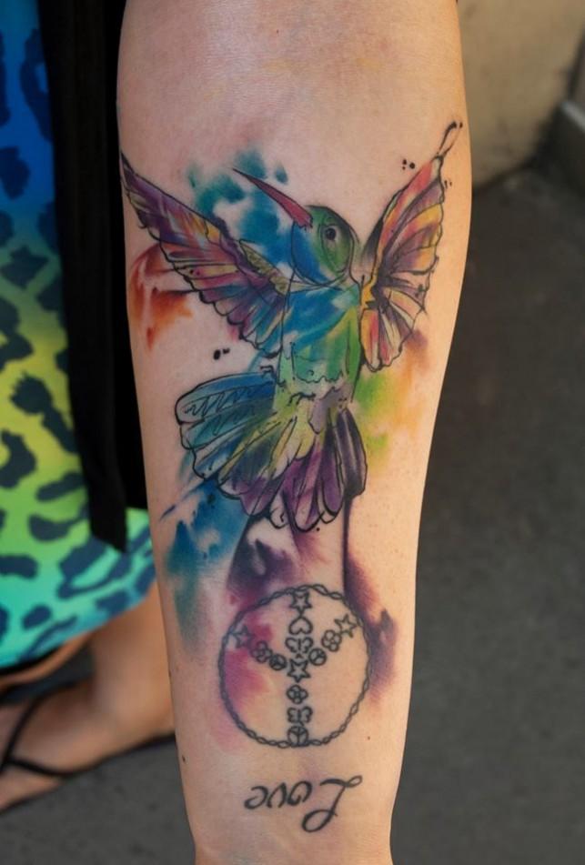 Simple Bird Tattoo By Mel Wink Tattoomagz Tattoo