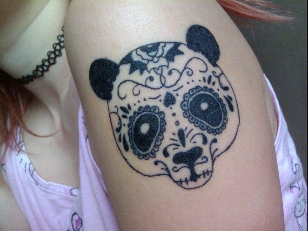 Creative Panda Bear Tattoo Tattoomagz Tattoo Designs