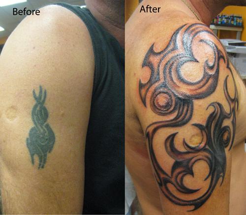Amazing Tribal Arm Tattoo Cover Up Tattoomagz Tattoo