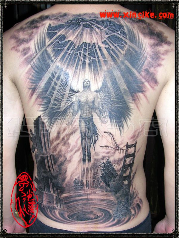 Tattoo Trends Guardian Angel Men Tattoos Great Tattoo Ideas And Designs