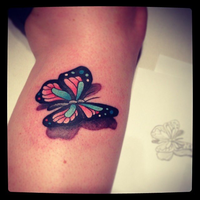 On Pinterest Butterflies 3D Butterfly Tattoo And Ideas And Designs