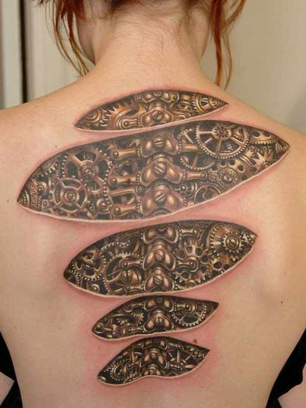 3D Tattoo Designs Ideas And Designs