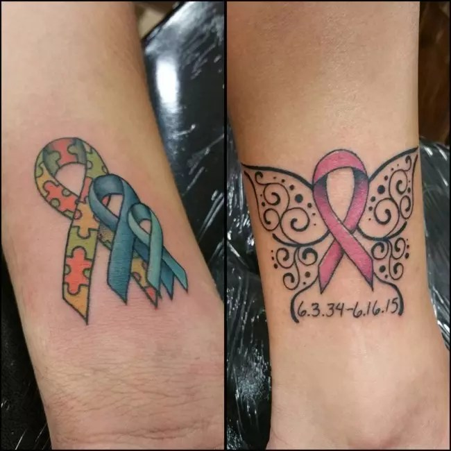65 Best Cancer Ribbon Tattoo Designs Meanings 2019 Ideas And Designs