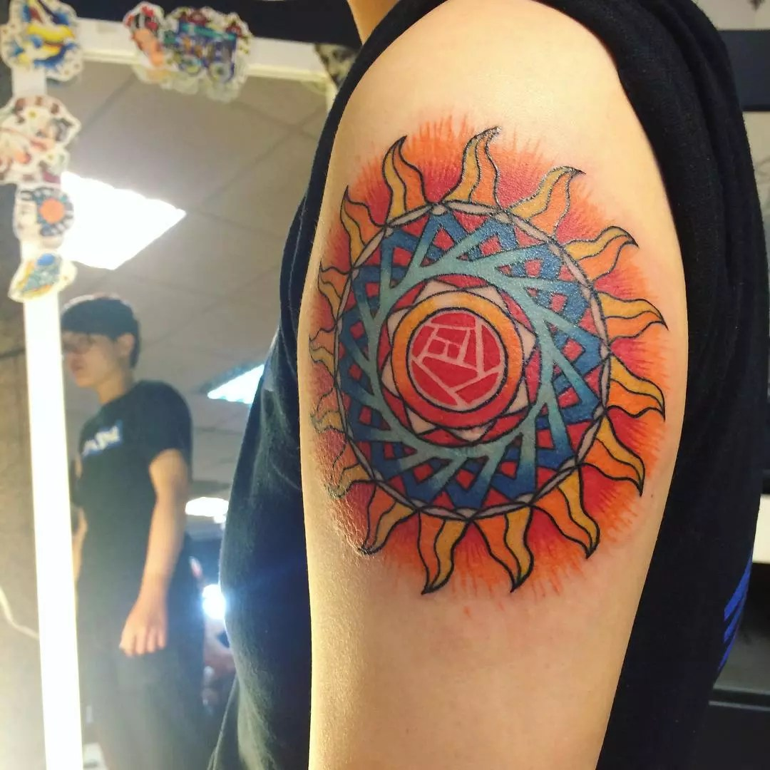 95 Best Sun Tattoo Designs Meanings Symbol Of The Ideas And Designs