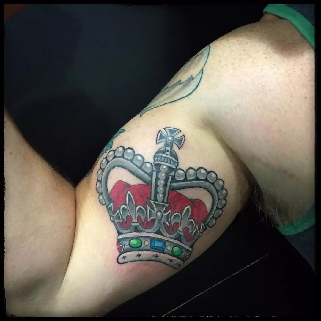 55 Best King And Queen Crown Tattoo Designs Meanings Ideas And Designs