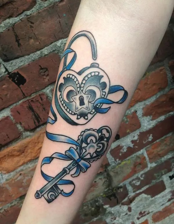 65 Best Lock And Key Tattoos Ideas And Designs