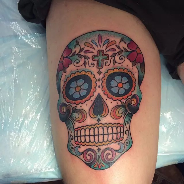 Day Of The Dead Tattoo Collection Dia De Los Muertos Ideas And Designs