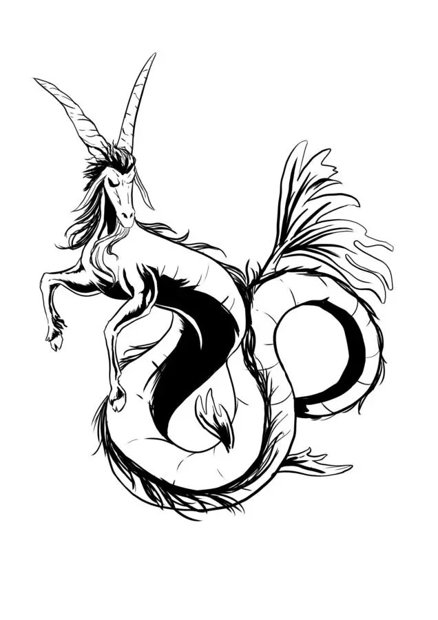55 Best Capricorn Tattoo Designs Main Meaning Is 2019 Ideas And Designs