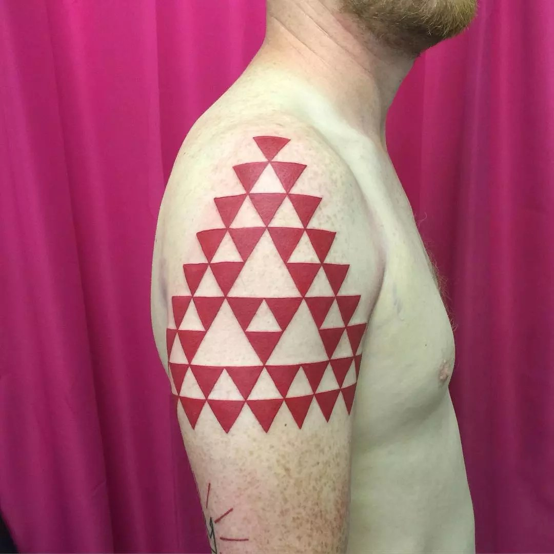 65 Best Triangle Tattoo Designs Meanings Sacred Ideas And Designs
