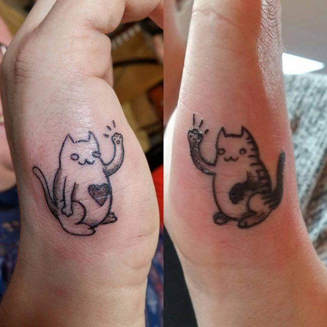 80 Cute Matching Tattoo Ideas For Couples — Together Forever Ideas And Designs