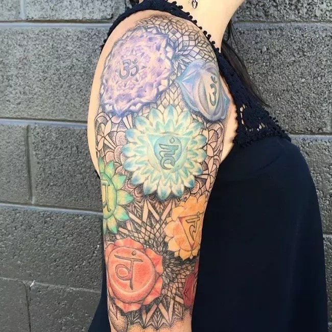 55 Energizing Chakra Tattoo Designs Focus Your Energy Ideas And Designs