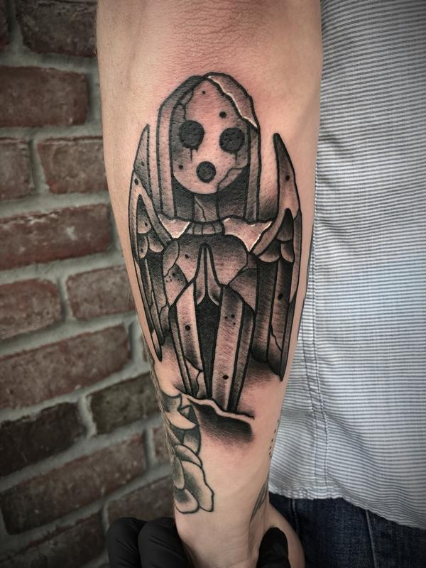 Afi Stone Statue By Dylan Talbert Davenport Tattoos Ideas And Designs