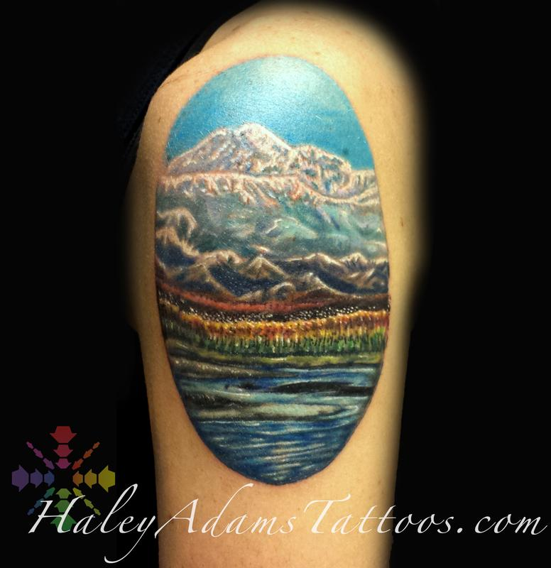 Alaska Mountains By Haley Adams Tattoos Ideas And Designs