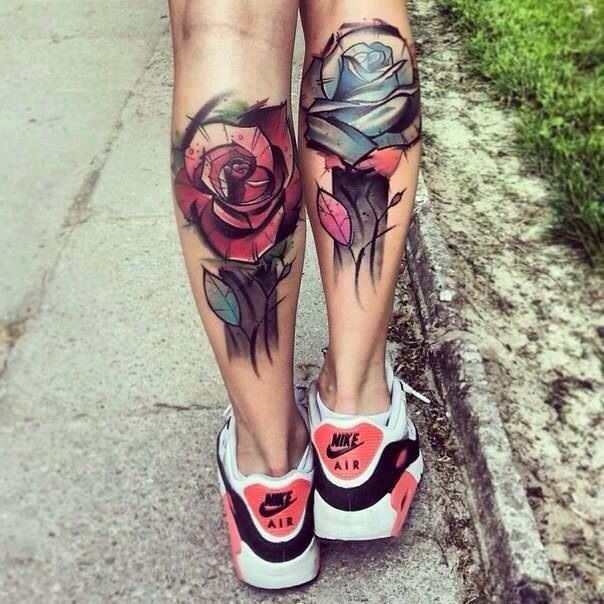 12 Calf Tattoo Designs You Won't Miss Pretty Designs Ideas And Designs