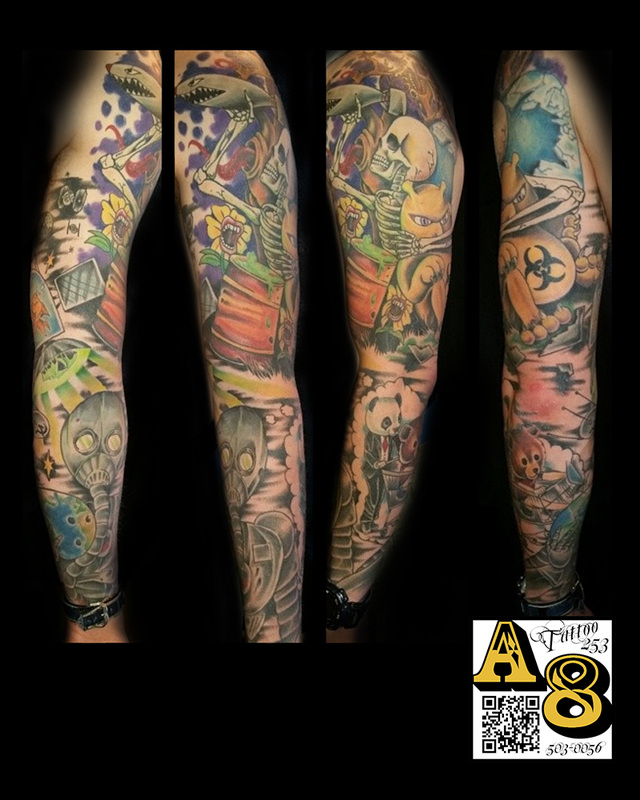 Ross Aces And Eights Tattoo And Piercing Lakewood Wa Ideas And Designs