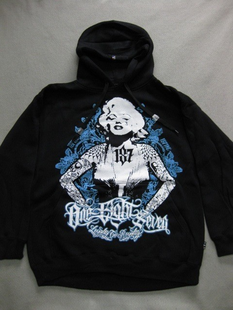 Tattoo V*X*N Marilyn Monroe 187 Inc Hoodie Blk Teal Ufc Ebay Ideas And Designs