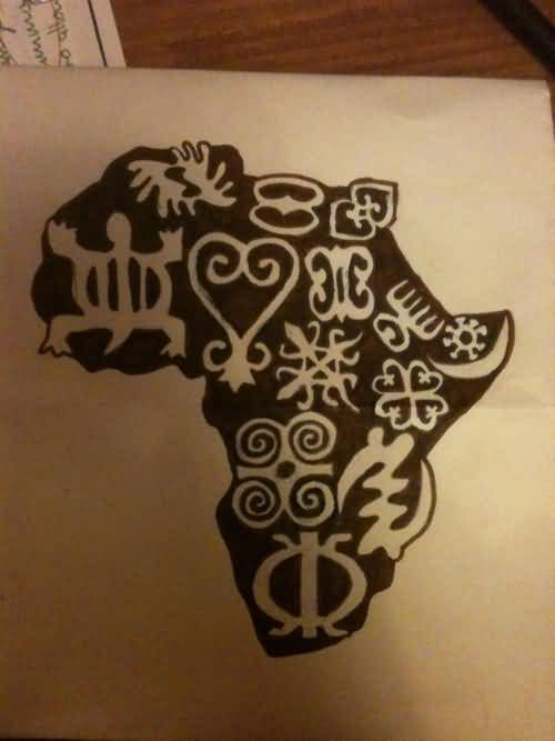 African Map Tattoos Images Pictures Tattoos Hunter Ideas And Designs