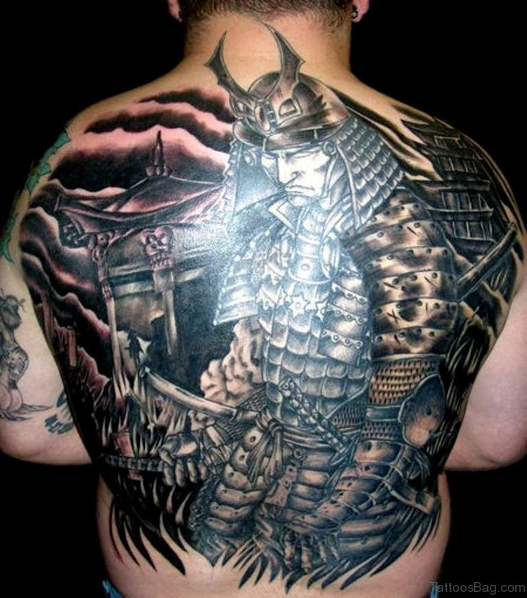 43 Alluring Japanese Samurai Tattoos For Back Ideas And Designs
