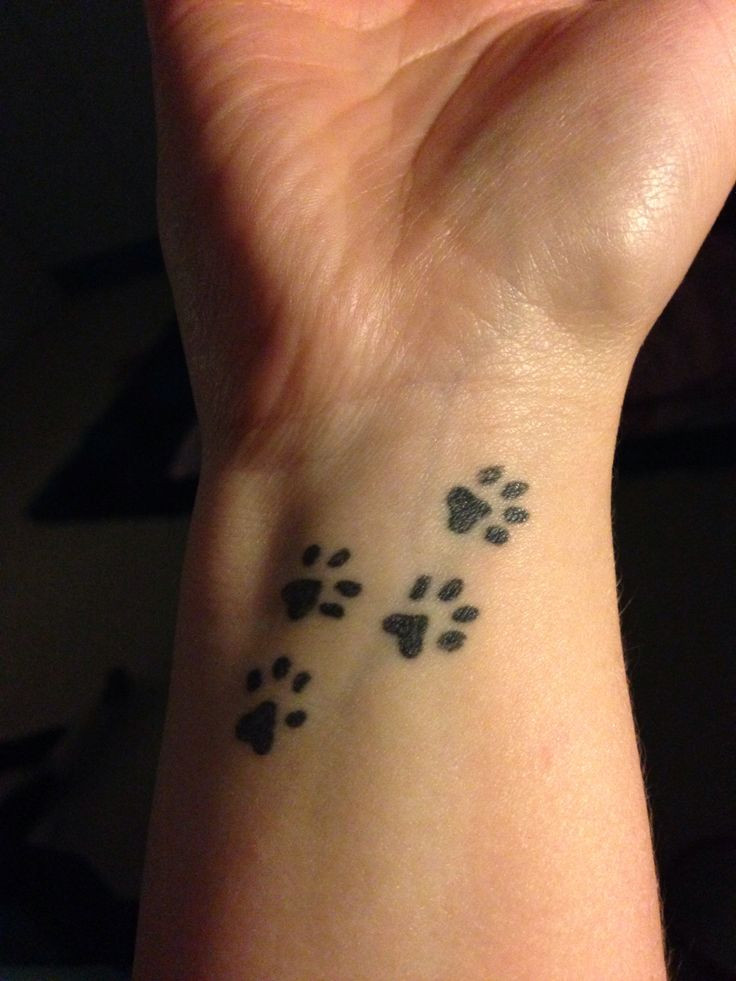 Dog Paw Print Tattoos Designs Ideas And Meaning Tattoos Ideas And Designs