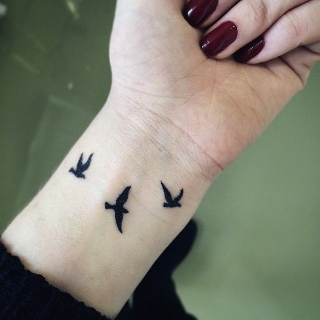 Bird Wrist Tattoos Designs Ideas And Meaning Tattoos Ideas And Designs