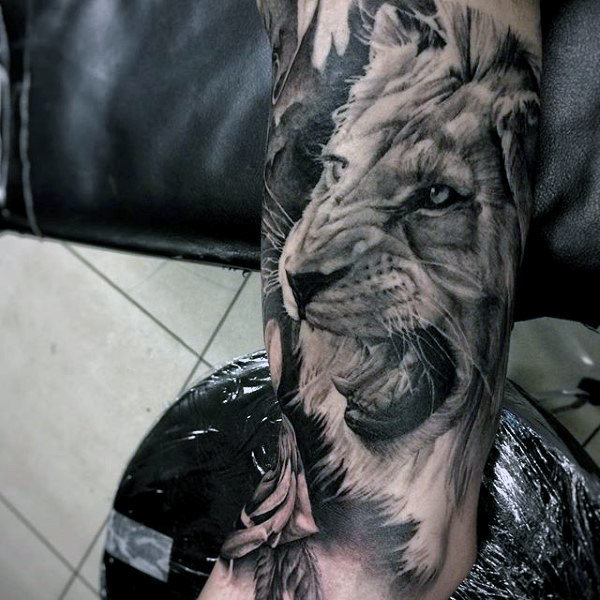 157 Most Creative Lion Tattoos To Courage Goluputtar Ideas And Designs