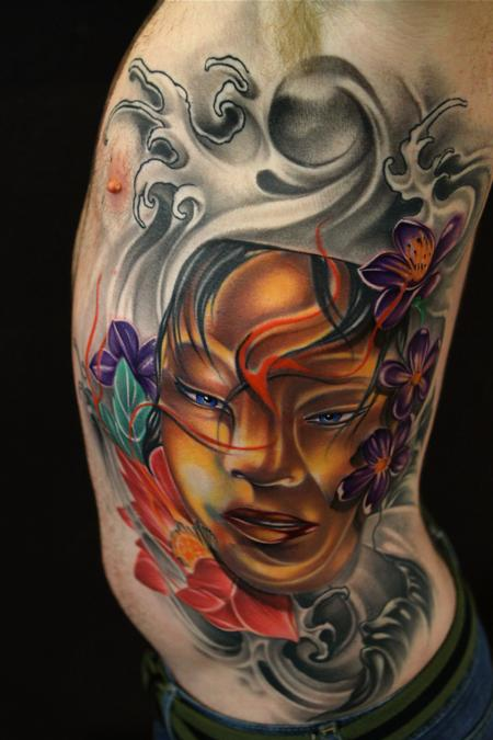 Art Junkies Tattoo Studio Tattoos Mike Demasi Asian Ideas And Designs