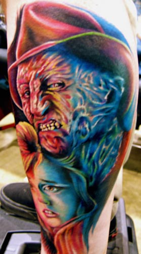 Art Junkies Tattoo Studio Tattoos Mario Rosenau Freddy Ideas And Designs