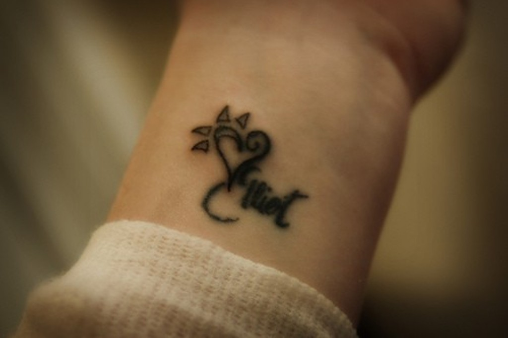 82 Awesome Letter Wrist Tattoos Design Ideas And Designs
