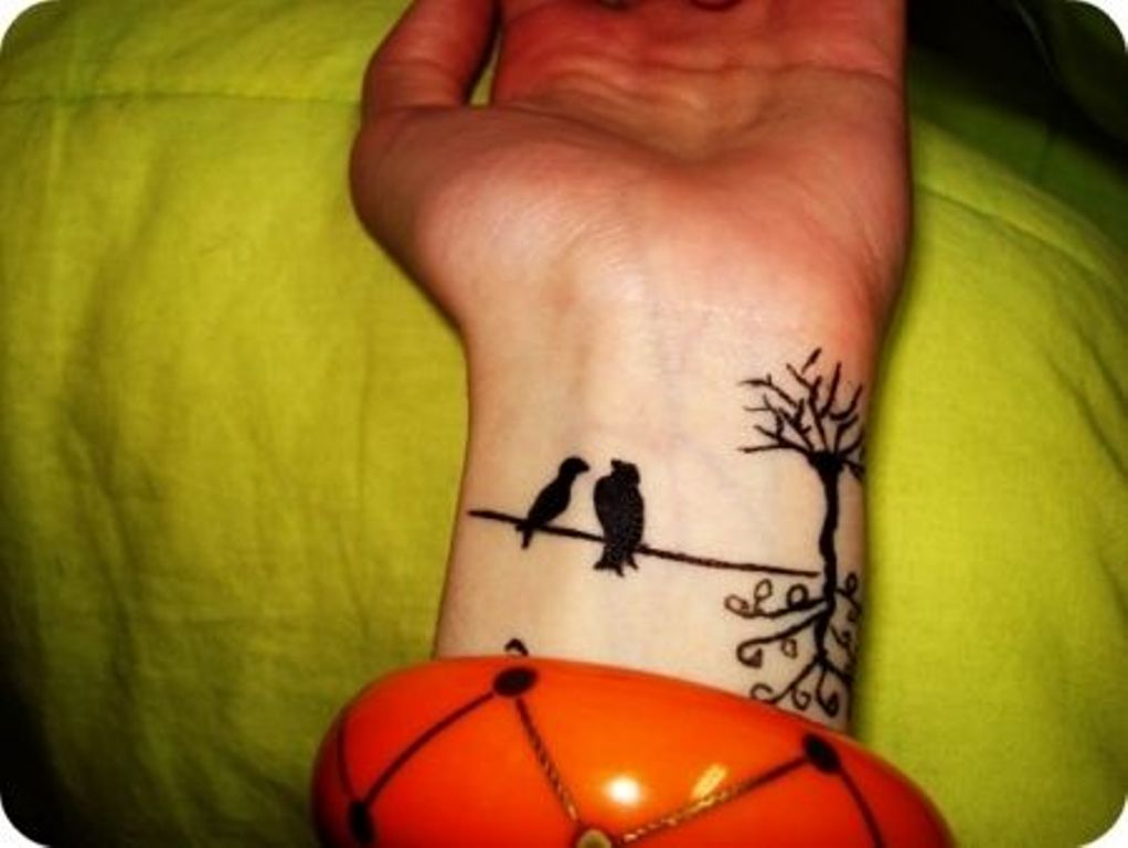 53 Awesome Birds Wrist Tattoo Designs Ideas And Designs